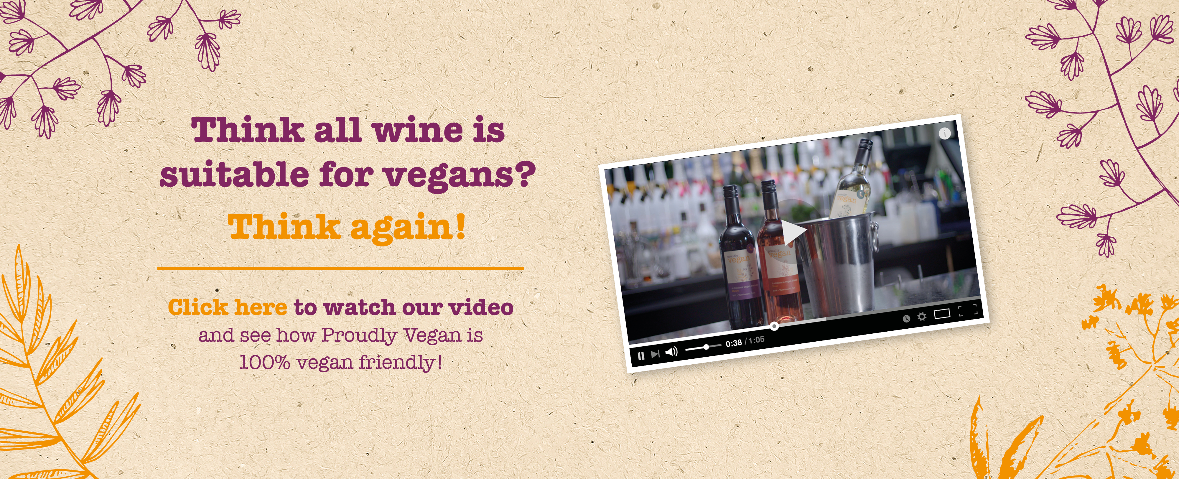 Proudly Vegan - Think all wine is suitable for vegans? Think again!